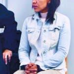 GRAF3268. ALMERÍA, 16/09/2019.- Ana Julia Quezada, autora confesa de la muerte del niño Gabriel Cruz, en la sexta sesión de proceso que juzga la muerte del pequeño y que se celebra en la Audiencia Provincial de Almería este lunes que continúa con la declaración de forenses y peritos médicos. EFE/ Carlos Barba