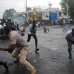 APTOPIX Haiti Fuel Protest