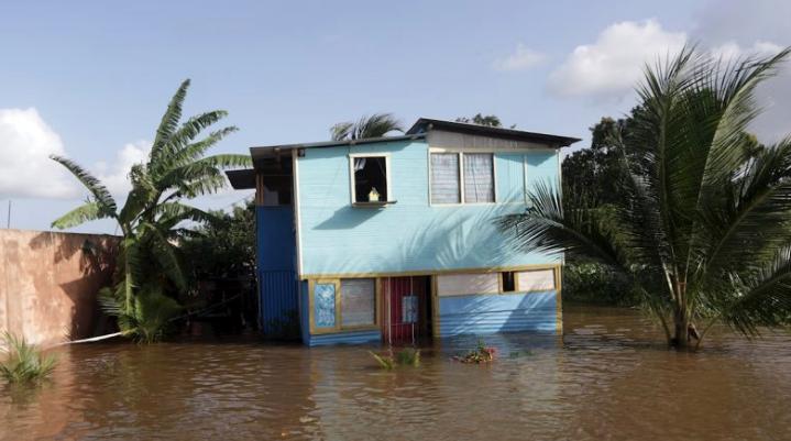 Tormenta Karen: Inundaciones y cortes de electricidad en Trinidad y Tobago