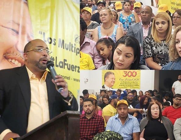 Cientos en Nueva York asisten asamblea  para apoyar Leonel Fernández en primarias