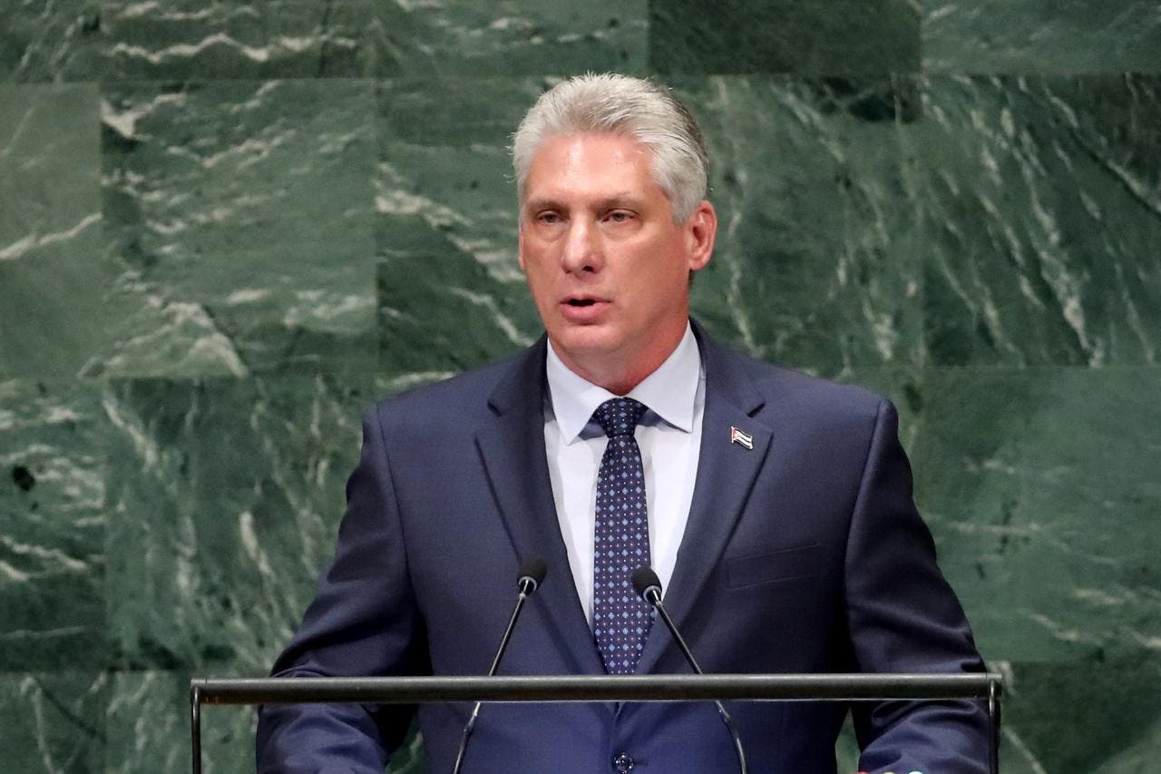 Twitter suspende cuentas a medios oficiales cubanos durante alocución presidencial
