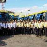 Foto 2 - Choferes de la empresa de transporte Caribe Tours.