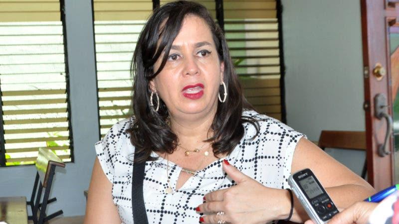 La Dra. Leandra Caldera.