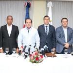José Paliza y miembros PRM