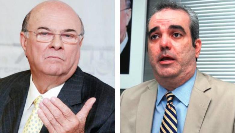 Se enciende la cosa en el PRM: Equipos de Luis Abinader e Hipólito Mejía hablan de apostar 10 millones de pesos por resultados primarias