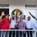 Miembros juramentados de la Comisión Electoral Local (CEL), del municipio de Ocoa.