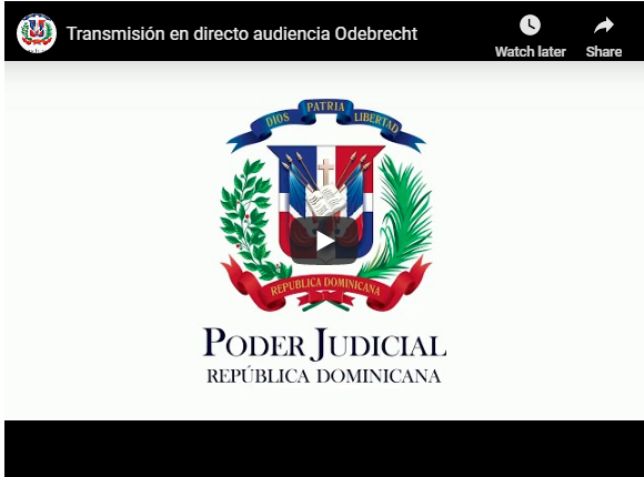 Vea aquí la transmisión en directo de la audiencia caso Odebrecht