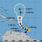 Tormenta tropical Karen