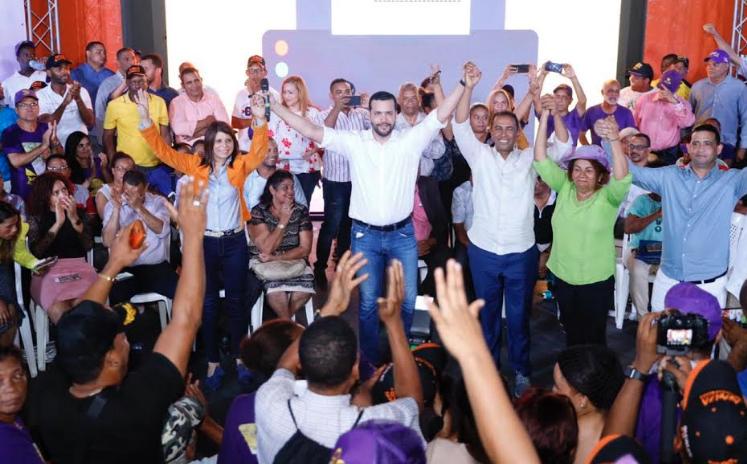 Rafael Paz asegura será el senador del PLD en la capital