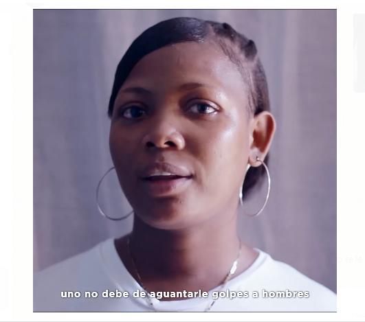 Video: «Uno no debe aguantarle golpes a hombre, y si yo fuera su maestra se lo dijera»