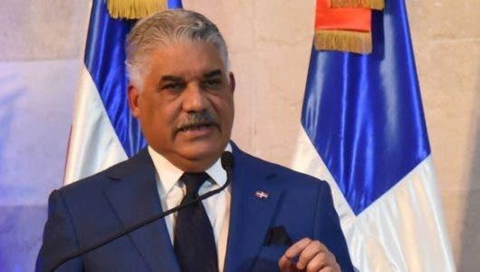 Miguel Vargas advierte situación de Haití amenaza paz y seguridad de la región