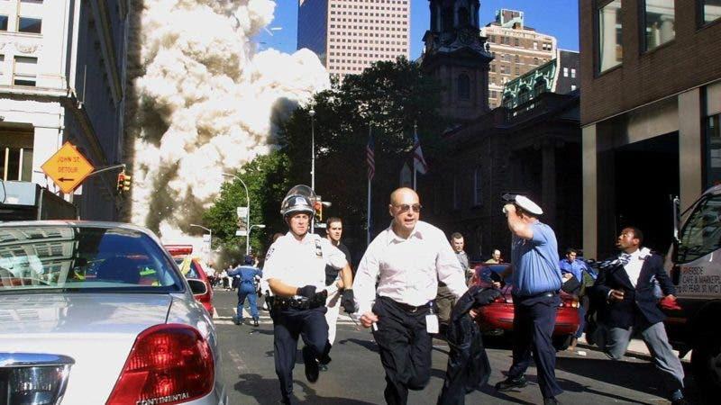 Momentos del ataque de las Torres Gemelas