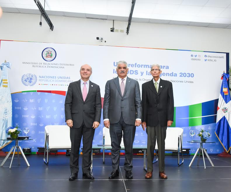 Miguel Vargas solicita respaldar proceso de reforma de la ONU