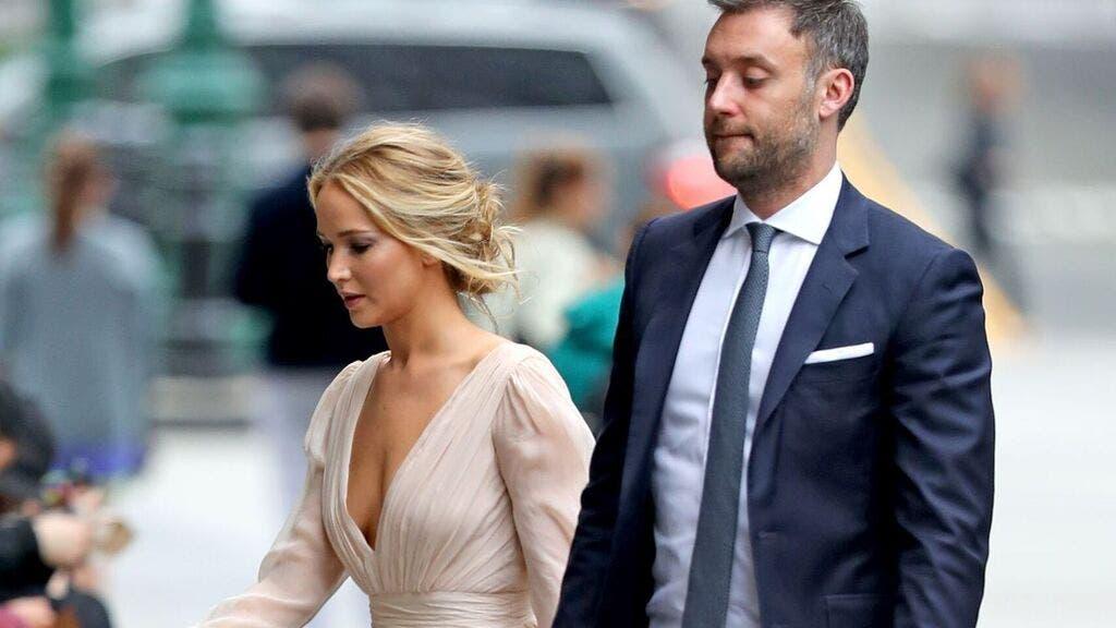 Jennifer Lawrence se casa con el galerista de arte Cooke Maroney