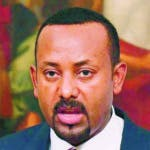 Rome (Italy).- (FILE) - Ethiopian Prime Minister Abiy Ahmed Ali during a press conference at Chigi Palace in Rome, Italy, 21 January 2019 (reissued 11 October 2019). Abiy Ahmed was awarded with the 2019 Nobel Peace Prize, the Norwegian Nobel Committee announced 11 October 2019. (Etiopía, Italia, Noruega, Roma) EFE/EPA/ALESSANDRO DI MEO *** Local Caption *** 54919901