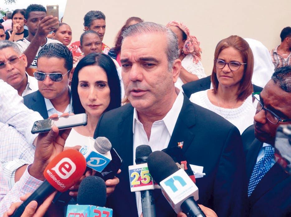 Luis Abinader retoma acciones de apoyo a candidaturas municipales