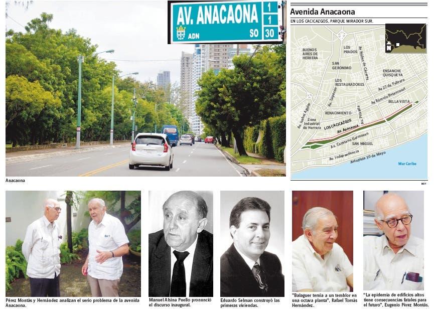 Avenida Anacaona, peligrosa