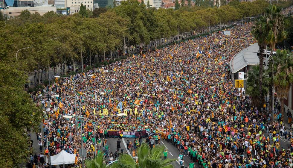 Video: Marchas y cortes de carreteras en la huelga general en Cataluña