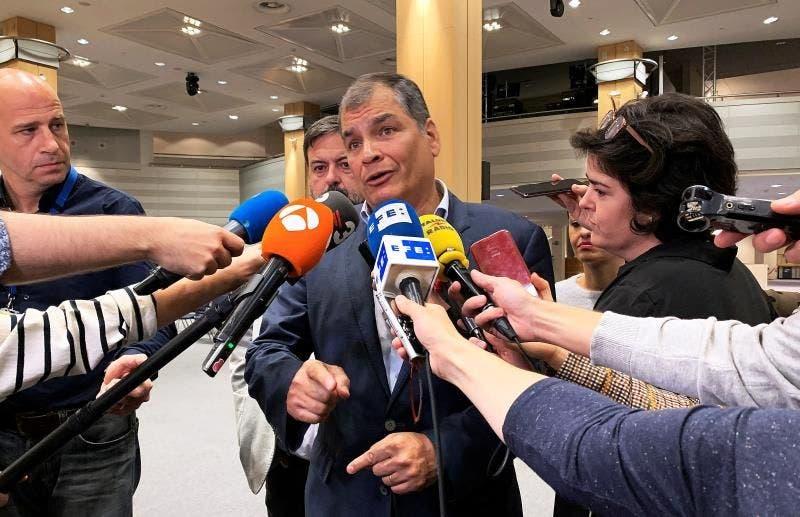 Expresidente Rafael Correa pide elecciones adelantadas en Ecuador y se ofrece como candidato Rosa Jiménez Bruselas
