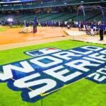 Los Astros de Houston realizan una práctica de bateo el lunes 21 de octubre de 2019, un día antes del comienzo de la Serie Mundial ante los Nacionales de Washington (AP Foto/Matt Slocum)