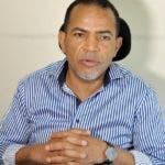 Juan Marte presidente de la Central Nacional de Transporte Terrestre CNTT. Hoy/ Wilson Aracena.