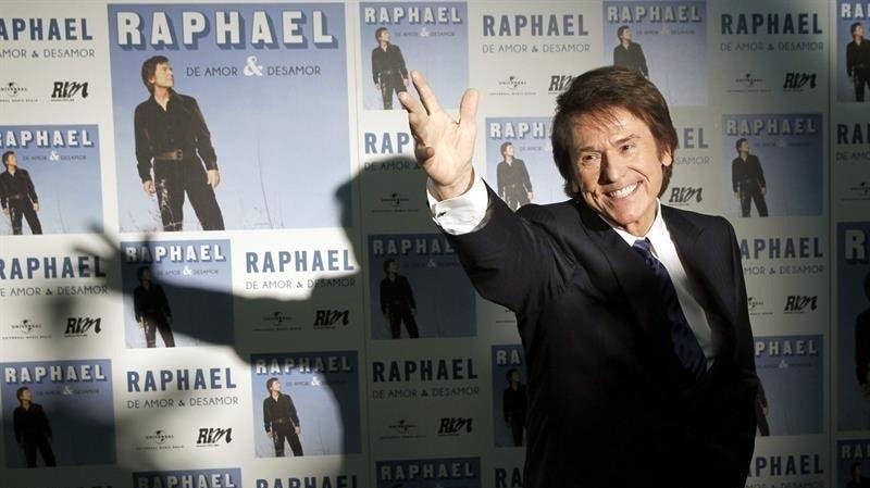 """Cantante Raphael: """"Soy una persona muy feliz, he hecho lo que me da la gana»"""