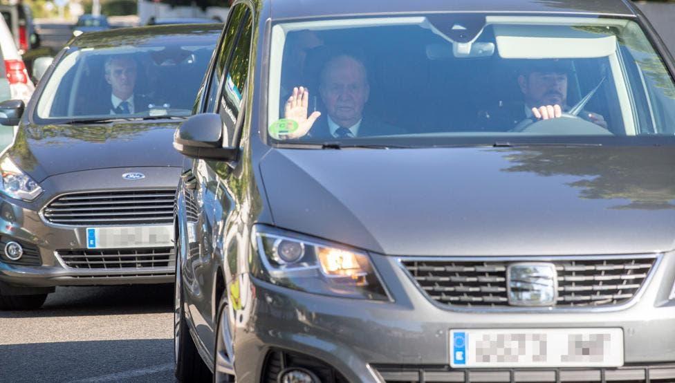 Los reyes Juan Carlos y Sofía asisten a la boda de Rafa Nadal y Mery Perelló