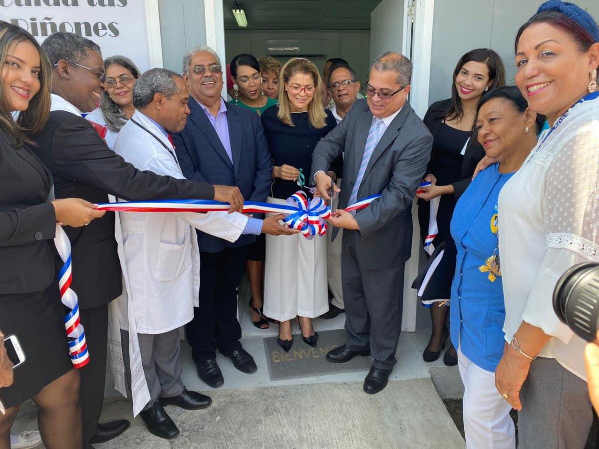 Servicio Nacional de Salud inaugura unidad de Hemodiálisis en hospital Luis Morillo King de La Vega
