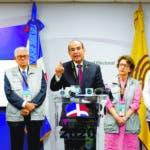 Rueda de prensa en La Junta Central Electoral, dónde el presidente Julio César Castaños Guzmán, habló sobre el seguimiento de las elecciones Primarias. HOY/ Arismendy Lora