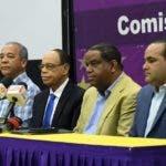 Rueda de prensa de comicion electoral del partido de la Libaración Dominicana (PLD) Foto/ Cortesia de Odalis Rosado 13/10/2019