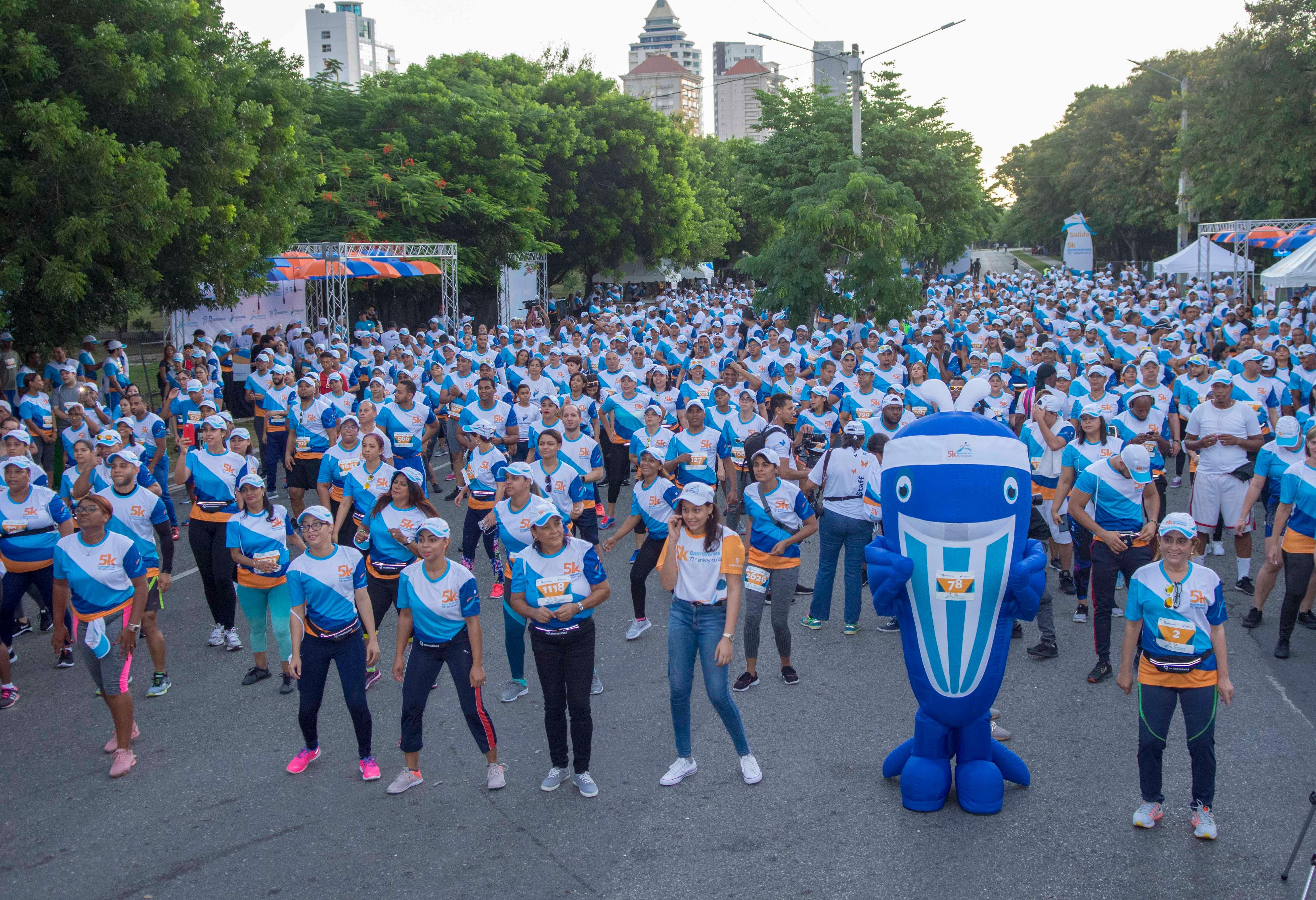 Voluntariado Banreservas celebra segunda edición 5k