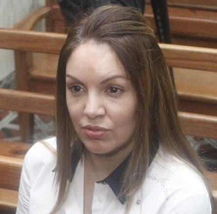 Hoy fue ratificada la medida de coerción a la esposa de Cesar el Abusador, ( Marisol Franco )  a que continúe con la condena en la cárcel de Najayo mujeres  en foto : Marisol Franco HOY Duany Nuñez  30-9-2019