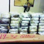 En un operativo conjunto,agentes de la Dirección Nacional de Control de Drogas (DNCD), incautaron 48 paquetes de cocaína, durante un operativo de supervisión realizado en el áreade los contenedores en el Puerto Multimodal Caucedo.  Hoy/Fuente Externa 20/10/19