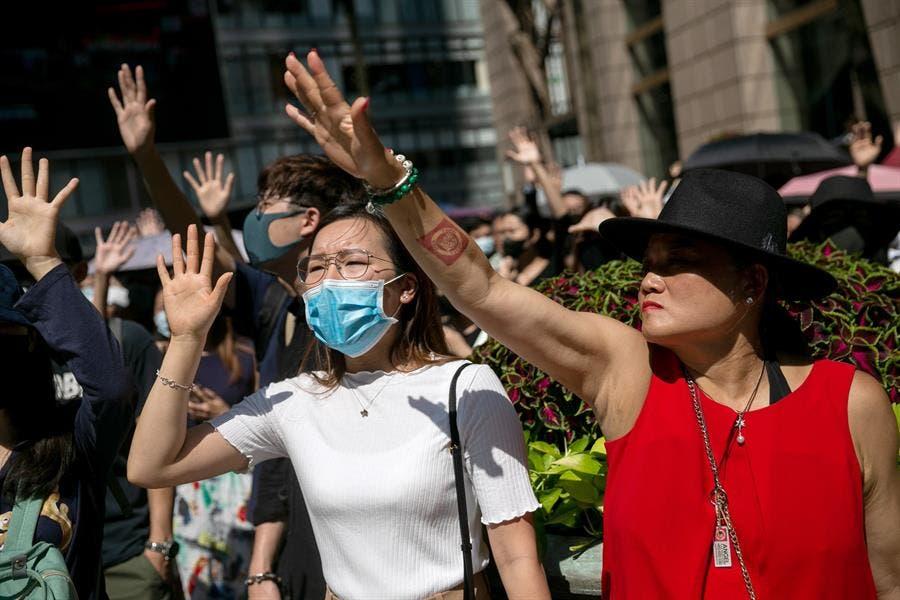 Calma tensa en Hong Kong cuando se cumple el cuarto mes de protestas por ley de extradición