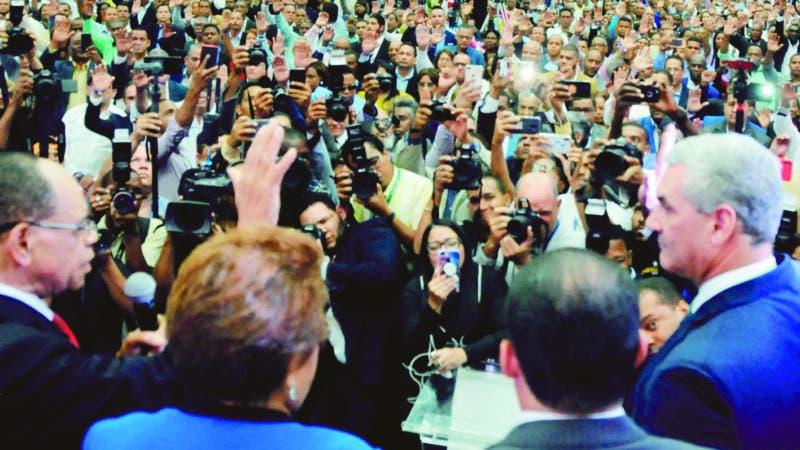 Comision Nacional Eelectoral.- PLD. Proclamacion candidatos electos, Octubre 2019.  Hoy/Nicolas Monegro 17/10/19