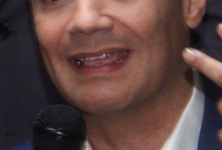 El candidato Presidencial Ramfis Domínguez Trujillo y su equipo de trabajo anunciaron algunos de los paso que dará su campaña  hacia la presidencia del país. En el 2020 en foto : Ismael Reyes Ramfis Domínguez Trujillo HOY Duany Nuñez 16-9-2018