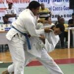 judo de los juegos Tony Barreiro