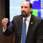 Diputado Leonelista Henry Merán, presidente de la Comisión Especial sobre el proyecto de Ley de Partidos.  Hoy/Fuente Externa 8/8/18