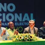 Pleno Nacional extraordinario electoral Frente Amplio. En foto: Directivos frente Amplio. Ariel Gomez / HOY / 20-10-2019
