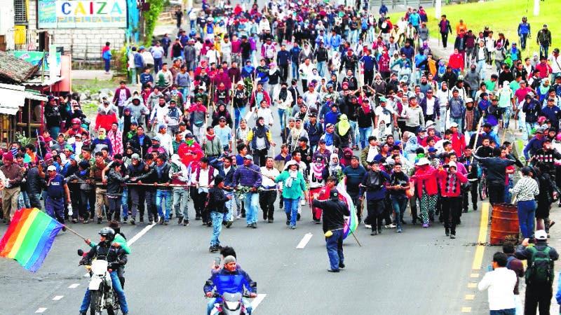 ¡Fuera Moreno!: indígenas toman la sede del Parlamento de Ecuador