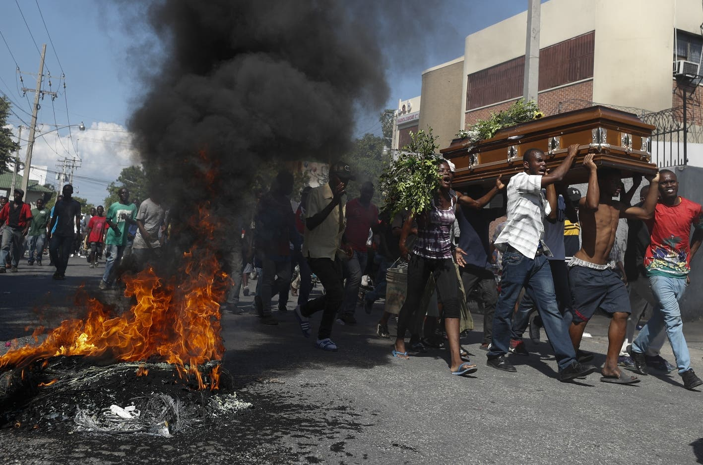 Van 42 muertos tras siete semanas de protestas en Haití, según la ONU
