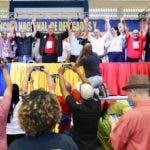 CINCO PARTIDOS PROCLAMARON A GONZALO CASTILLO, COMO SUCANDIDATO PRESIDENCIAL .- Los Partidos Demócrata Popular(PDP), Movimiento Democrático Alternativo(MODA), Cívico Renovador (PCR), Unión Demócrata Cristiana (UDC)  y Acción Liberal (PAL), proclamaron este finde semana al aspirante presidencial por el Partido de la Liberación Dominicana(PLD), Gonzalo Castillo, como su candidato presidencial, quien aseguró que a él y estas organizaciones políticas losune el principio de pluralidad y convergencia democrática, así como el deseo deavanzar en el desarrollo económico, social, político y cultural de la nación dominicana. Hoy/Fuente Externa 20/10/19