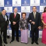 Celso Marranzini, Arturo Pérez Gavino, Mary Pérez Marranzzni, Eduardo Tolentino  y Sonia Villanueva.