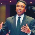 El senador peledeísta ganó la candidatura para un nuevo periodo