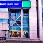 Fachada de Banco Santa Cruz