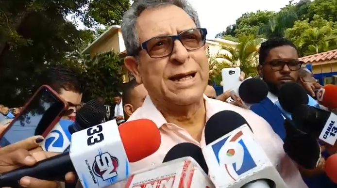 Felucho Jiménez sobre salidas del PLD: «Si se van no 100, no 500, que se vayan 5,000…»