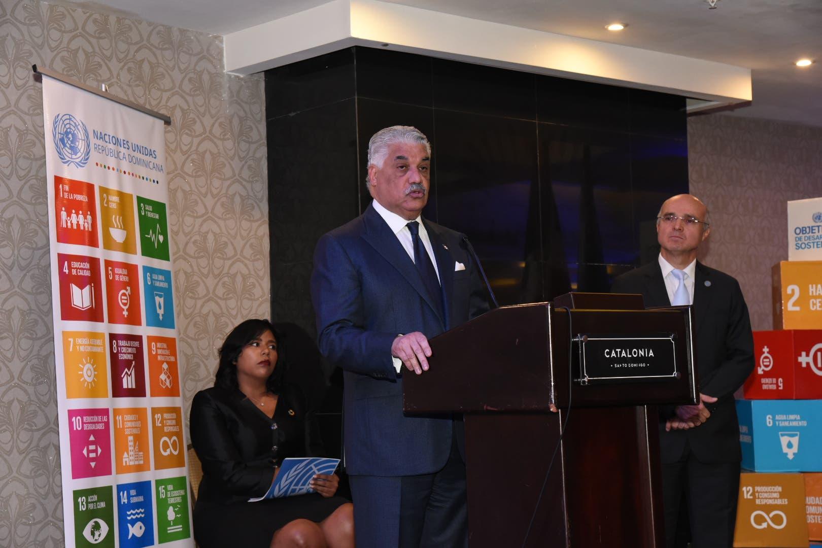 Canciller Miguel Vargas destaca rol de la ONU en progreso del mundo