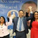 Foto de Norberto Rodríguez, quien fue el más votado, seguido de Servia Iris Familia, y Kenia Bidó