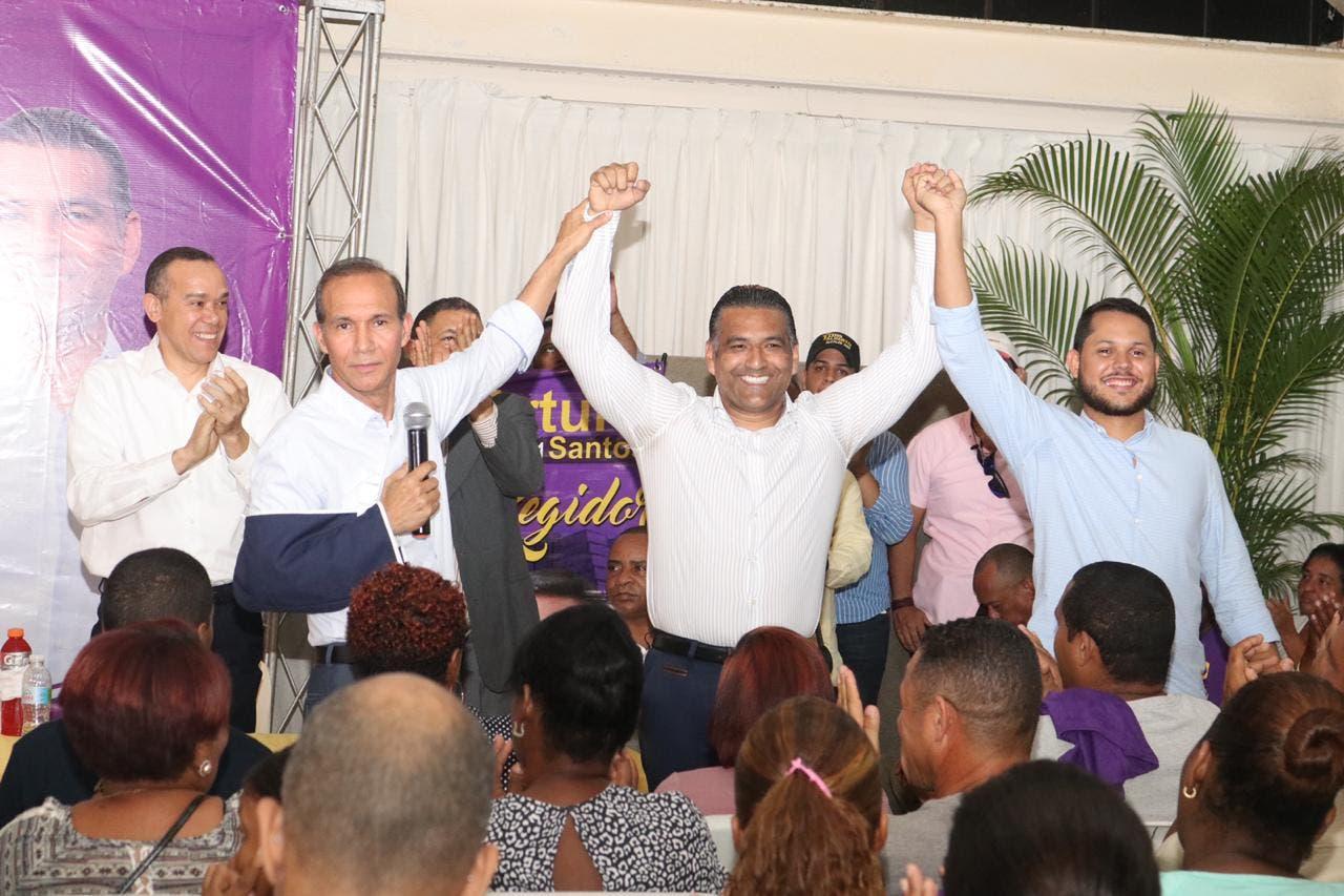 Alianzas electorales en SDO dan «cómoda posición» a Luis Alberto