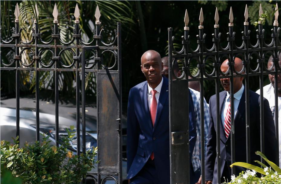 Presidente de Haití Jovenel Moise se niega a abandonar el poder